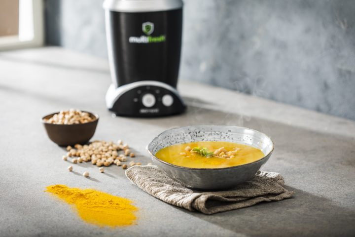 Chickpea and curry soup