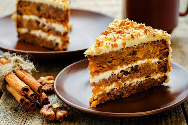 Carrot mascarpone cake